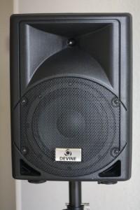 Voorkant speaker